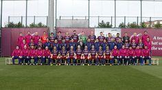 Así ha sido la sesión de la fotografía oficial del primer equipo | FC Barcelona