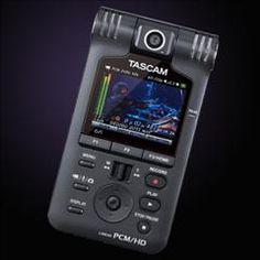 HelloMusic: Tascam Video Recorder DR-V1HD Linear PCM Recorder http://www.hellomusic.com/items/dr-v1hd-linear-pcm-recorder