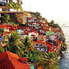 A Grécia é aqui, não, pera... Aqui é Salvador meu Pai !! #Gamboa #AvContorno #Bahia #Salvador #MeuLugar #CoisaLinda #DeusSoberano #Travel