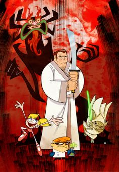 genndy tartakovsky is the creator of dexter,power puff girls and samurai jack. I AM STILL TRYING TO FIND WHO MADE THIS DRAWING SO I CAN GIVE THEM CREDIT AND PUT THEIR NAME OR WEBSITE ON THIS