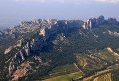 Les Dentelles de Montmirail, Vaucluse, Provence, France