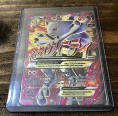 Pokemon Mega Mewtwo EX Full Art Ultra Rare BREAKthrough 160/162 NM