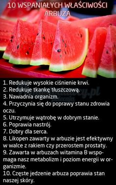 I love watermelon! Healthy Drinks, Healthy Eating, Healthy Recipes, Fitness Facts, Health Fitness, Juice Plus, Slow Food, Health Advice, Superfoods
