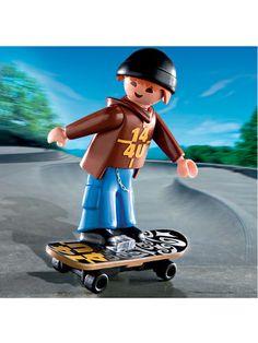 Skateboarder #Playmobil 4754 #educationaltoys