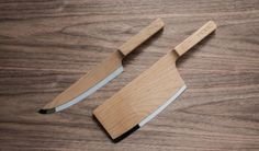 maple wood knives by the federal #product #design