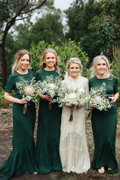 Ivory Tribe Real Wedding - Alyce and George Bridesmaids, Bridesmaid Dresses, Wedding Dresses, Rustic Italian Wedding, Real Weddings, Wedding Day, Ivory, Bridal, Outfits
