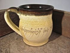 The Mug of Power - Free Shipping - Lord of the Rings  - by Blaine Atwood - item 161