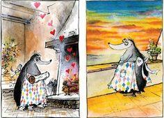 Painting true love Ronald Searle, True Love, My Love, Illustrators, Art Pieces, Painting, Maths, Lovers, Dreams