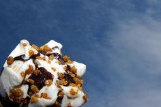 Dag 25 #35dagen #hetweer #synchroonkijken25 Gevolg van mooi weer, dus een lekker ijsje !!