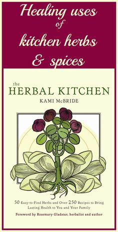 DIY home herbal remedies in your kitchen. Culinary herbs and spices have many uses as natural remedies. Learn how to turn your spice cabinet into your home apothecary http://livingawareness.com/theherbalkitchen/