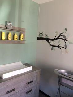 Mintgroene tak voor de babykamer. Staat prachtig bij de tiamo collectie.