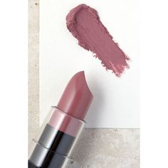 NYX Natural Mauve Matte Lipstick (17.715 COP) ❤ liked on Polyvore featuring beauty products, makeup, lip makeup, lipstick, purple, nyx lipstick, glossy lipstick, lip gloss makeup and nyx