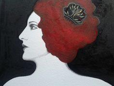 Portrait. Sara Morante