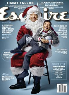 Jimmy Fallon para Esquire USA Diciembre/Enero 2016 - Male Fashion Trends