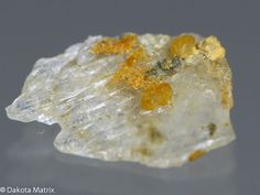 Hotsonite - Orange crystal aggregates to on gypsum. This and many more mineral specimens are available for sale at Dakota Matrix Minerals. Gypse, Phillips Collection, Orange Crystals, Russia, Fossils, Geology, Crystal Healing, Gemstones, Rocks