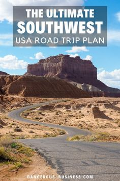 The American Southwest is the perfect region for a road trip. Here is a detailed guide and itinerary for planning the perfect Southwest road trip! The American Southwest is a beautiful destination full of natural beauty. As the landscape changes from red rocks to desert, you will never run out of things to do. If you want destinations, tips, and hacks, here is a detailed guide and itinerary! #USATravel #NationalParks #Arizona #BucketList #RoadTrip #Utah