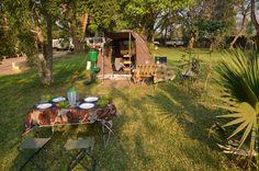 Unterkunftsbeispiele - Wigwam private Safaris