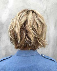 7.Layered Bob Hairstyle