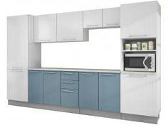 Cozinha Modulada em Aço 6 Peças - CasaMob