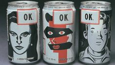 """""""OK Soda was a soft drink created by The Coca-Cola Company in 1993 that aggressively courted the Generation X demographic with unusual advertising tactics, including endorsements and even outright negative publicity. It did not sell well in select test markets and was officially declared out of production in 1995 before reaching nation-wide distribution. The drink's slogan was 'Things are going to be OK.'"""""""