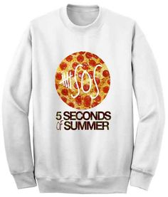 Unisex Crewneck Sweatshirts 5 Seconds Of Summer