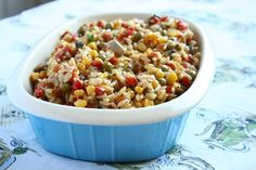 Rice and Roasted Vegetable Salad