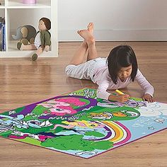 Delightful Essential Home  Girlu0027s Game Rug Rectangle Color My Little Pony