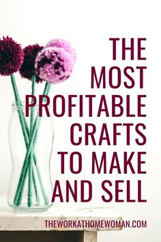 Money Making Crafts, Crafts To Make And Sell, Diy Arts And Crafts, Handmade Crafts, Easy Crafts, Handmade Ideas, Etsy Business, Craft Business, Business Ideas