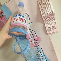 SNSで大流行してる!evianの空ペットボトルのリメイクがすごい! | CRASIA(クラシア)