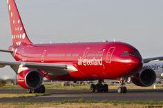 https://flic.kr/p/yFhEoU | LFPG 21 aout 2015 Airbus A330 Air Greenland  OY-GRN