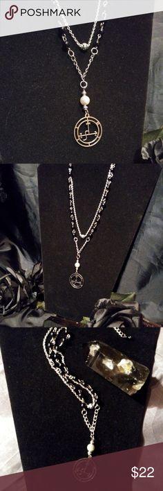 I just added this listing on Poshmark: Onyx & Labradorite Lilith Seal Pendant Necklace. Satanic Jewelry, Dark Moon, Altars, Labradorite, Seal, Handmade Jewelry, Pendant Necklace, Chain, Shopping