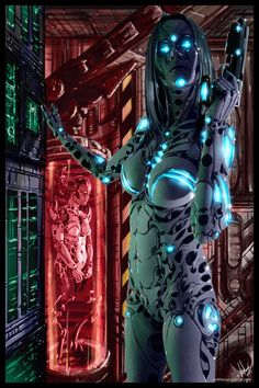 Cyberpunk Painting 068 by tower-raven on DeviantArt