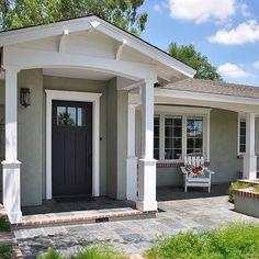 Popular Exterior House Paint Colors | Exterior Window Trim Design Ideas, Pictures, Remodel, and Decor
