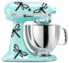 """Give+your+mixer+a+quick+and+easy+decorative+touch!+ *Includes+9+vinyl+dragonfly+decals+and+application+instructions *Each+decal+measures+approx.+3.9""""W+x+2.9""""H *Decals+come+with+transfer+tape+applied+for+easy+application+onto+your+machine *Flexible+placement,+apply+however+you+want ..."""