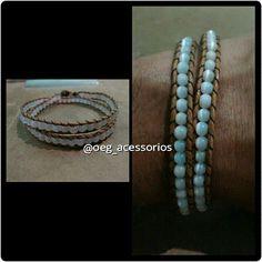 Bracelet double round follow me on instagram @oeg_acessorios