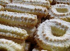 Tradiční strojkové vánoční cukroví