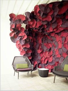 Kvadrat Clouds by Ronan and Erwan Bouroullec  http://www.kvadratclouds.com/