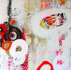 Abstrakt, painting, maleri, collage, Abstrakt, art, udstillinger, kursus, akrylmaleri, Rie Brødsgård, Kolding, galleri.