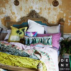 Daily Digs | Colorful Surf Cottage #bohemian #summer