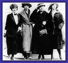 "Meloney, Irène, Marie and Eve and Eve shortly after their arrival in the United States, where the press dubbed Eve ""the girl with the radium eyes. Radium Girls, Marie Curie, Ad Art, Chemistry, Science, History, Pictures, United States, Events"