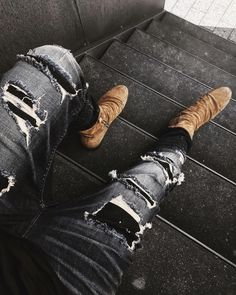 We like it rough! And so do you! Find all of our vintage & destroyed look denims on tigha.com