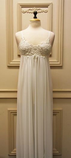 Venice Bridal Nightgown | Peignoir | Lingerie by shopinbloombyjonquil.com