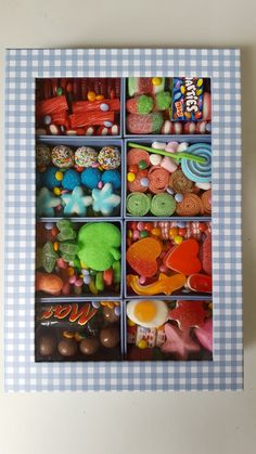 Birthday Gifts For Boyfriend Diy, Cute Birthday Gift, Birthday Gifts For Best Friend, Movie Night Gift Basket, Candy Board, Sleepover Food, Candy Gift Box, Candy Crafts, Sweet Box