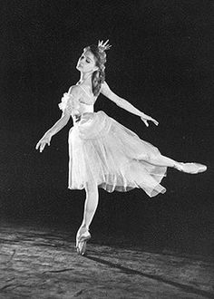 Alla Sizova, the preferred dance partner of Rudolph Nureyev before his defection.