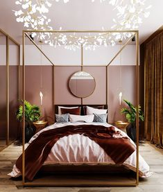 Bedroom lighting ideas to spark your own modern bedroom set! Find just the right lamp for your brand new bedroom refurbishment! Find out why modern bedroom room design is the way to go! Trendy Bedroom, Cozy Bedroom, Home Decor Bedroom, Design Bedroom, Scandinavian Bedroom, Bedroom Alcove, Scandinavian Style, Bedroom Decor Elegant, Entryway Decor