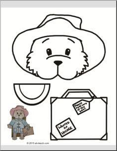 Paddington Bear Craft - Паддингтон Медведь Кукольный - Бумажная сумка Кукольный - просмотр 1