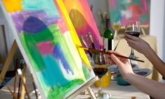 Up to 57% Off a BYOB Painting Class or Party