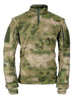 64a286eb974 US ARMY MILITARY A-TACS FG Tactical TAC.U Combat ATACS TAC U Shirt