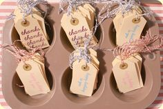 Paper Pastries gift tag display 2 by ♥ paper pastries, via Flickr