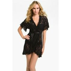 Lace Wrap Black Large Good